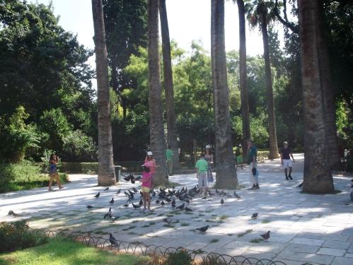 Grădina naţională, Atena